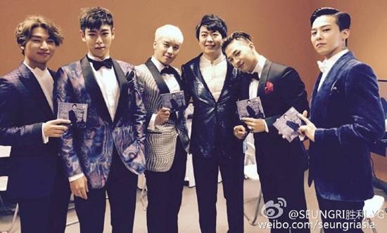 g出席2016QQ音乐颁奖礼荣获四项大奖